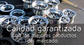 Calidad garantizada con los mejores productos del mercado